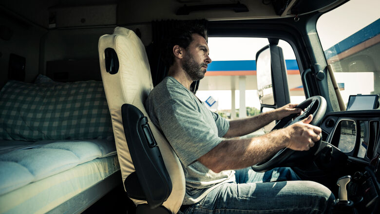 How truckers can stay healthy on the road